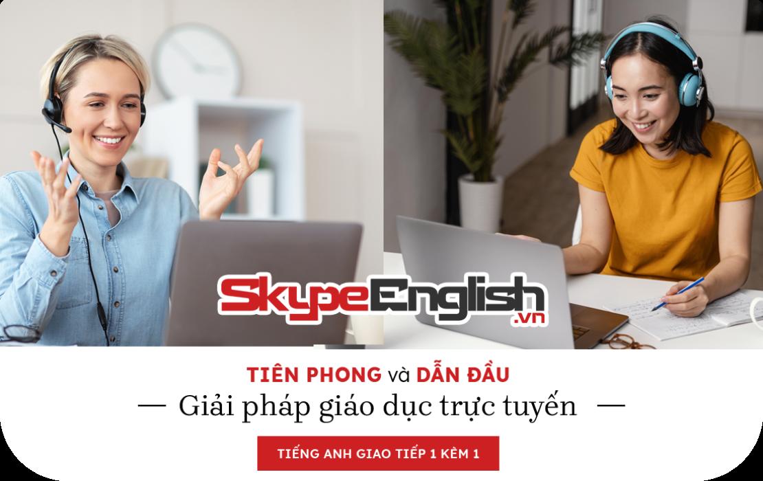 tiếng anh online 1 kèm 1 tại skype english